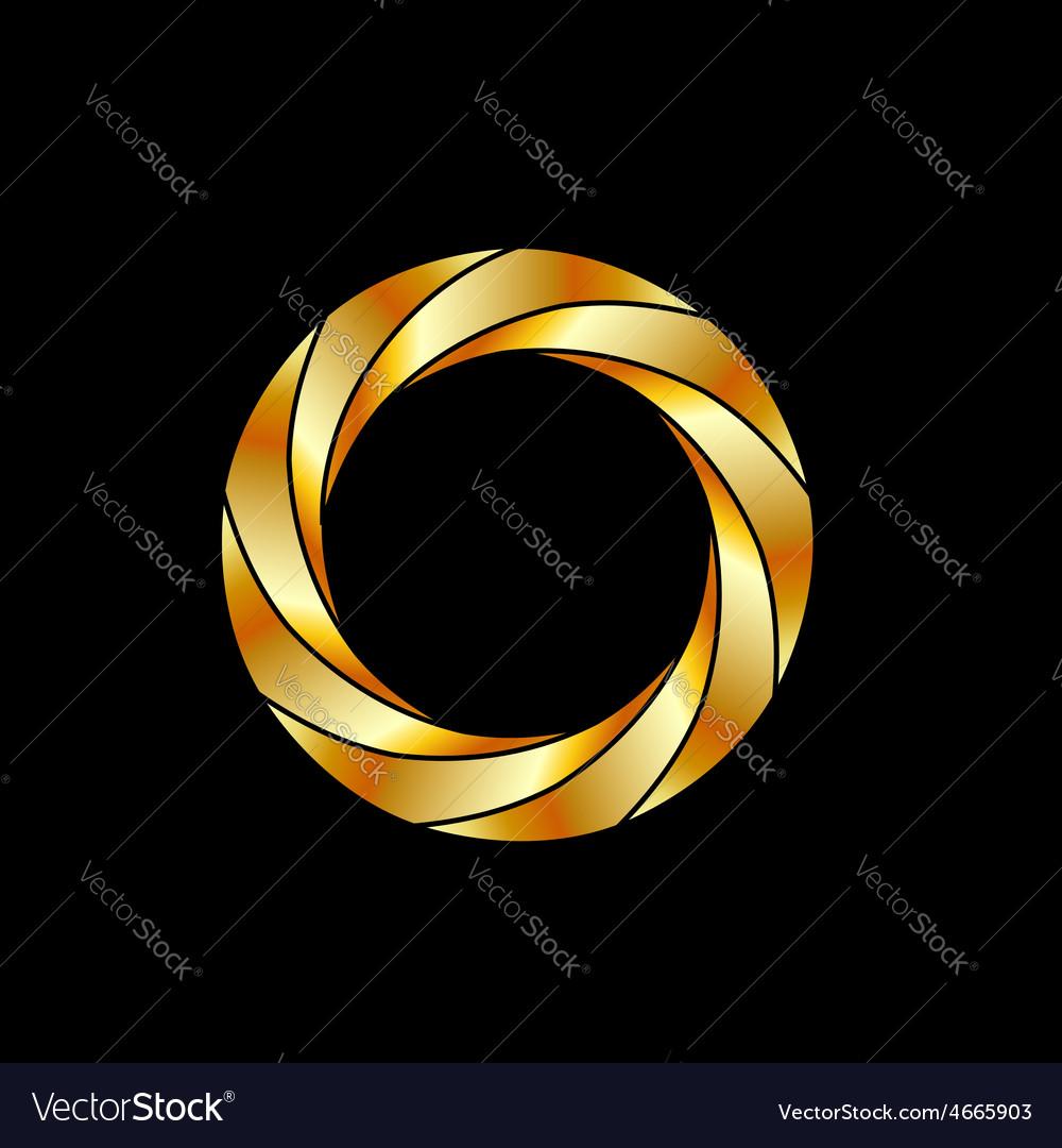 Aperture- photography logo vector | Price: 1 Credit (USD $1)