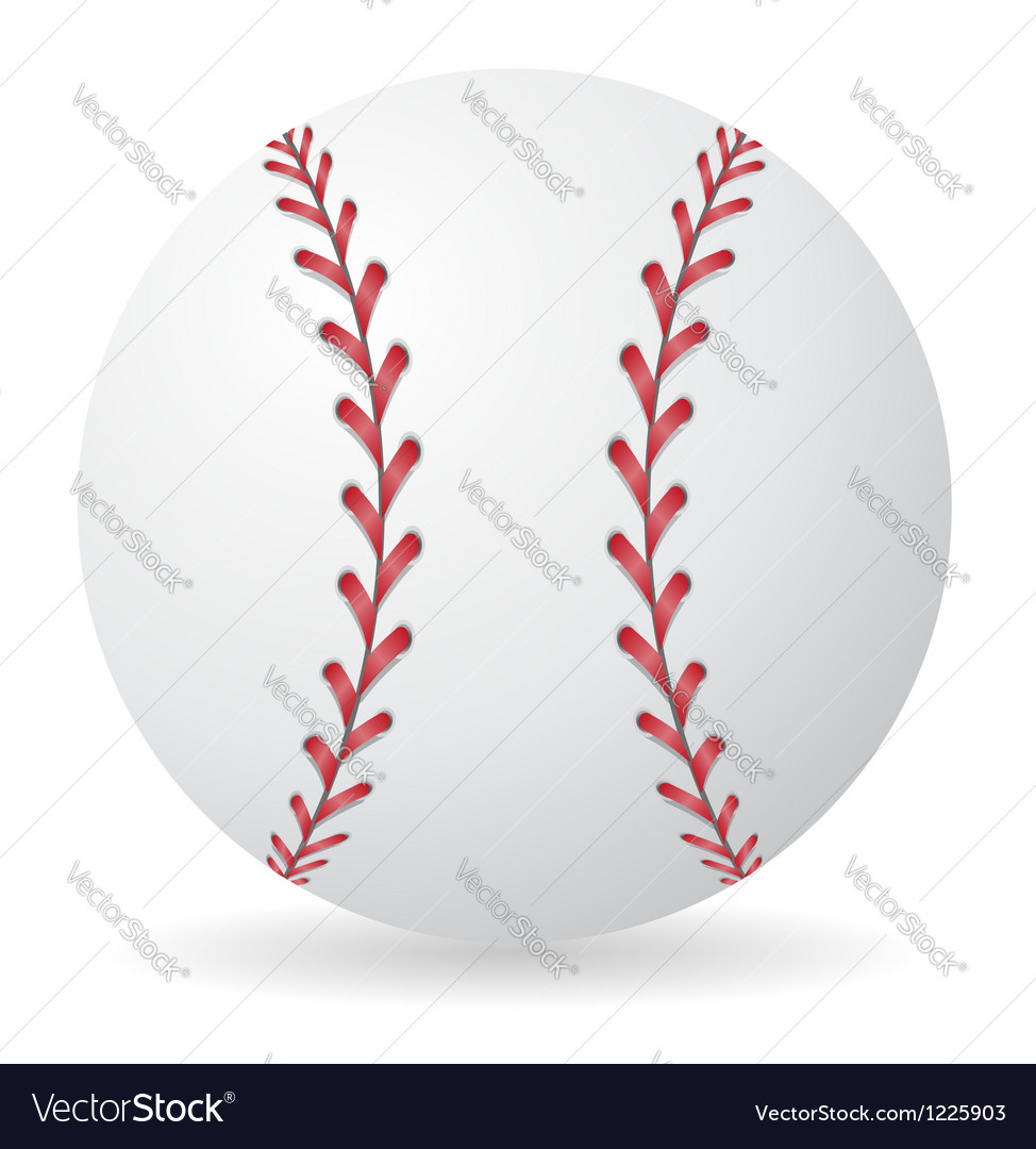 Baseball 01 vector | Price: 1 Credit (USD $1)