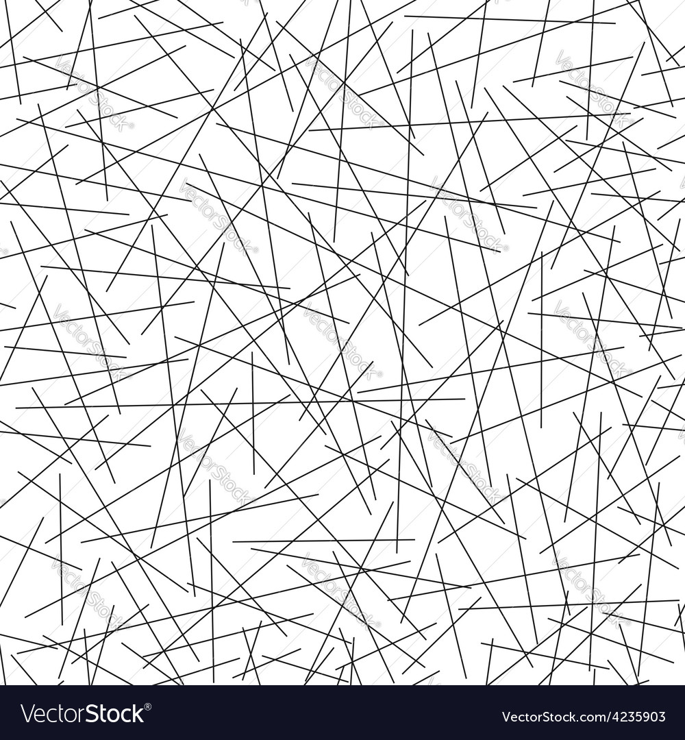 Seamless pattern of random lines vector | Price: 1 Credit (USD $1)