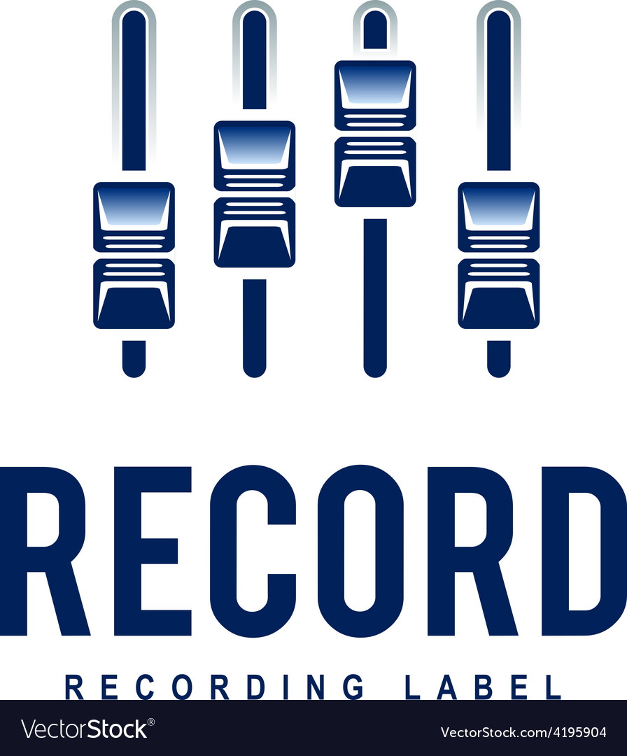 Record logo vector | Price: 1 Credit (USD $1)