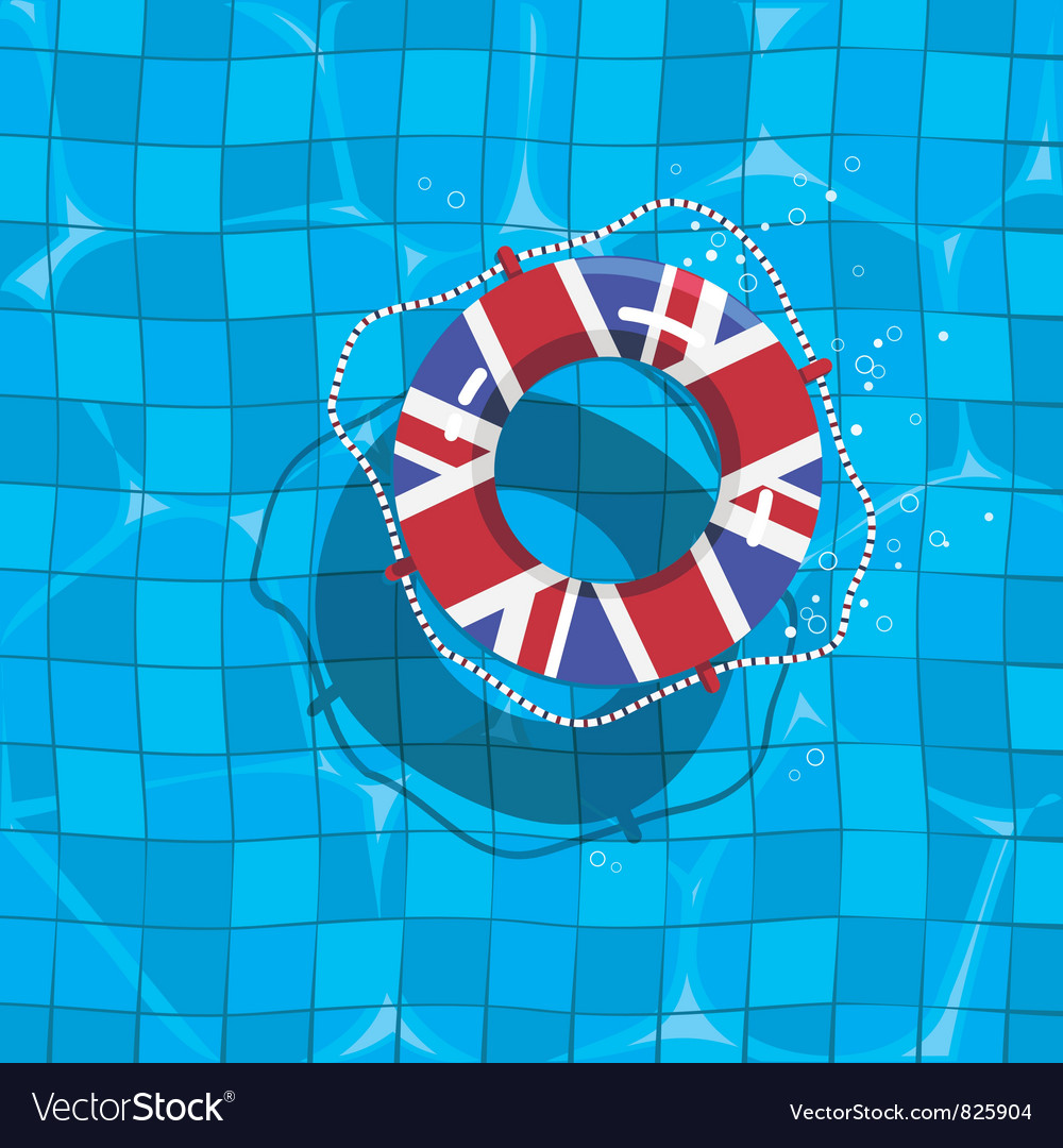 Uk life saver vector | Price: 3 Credit (USD $3)