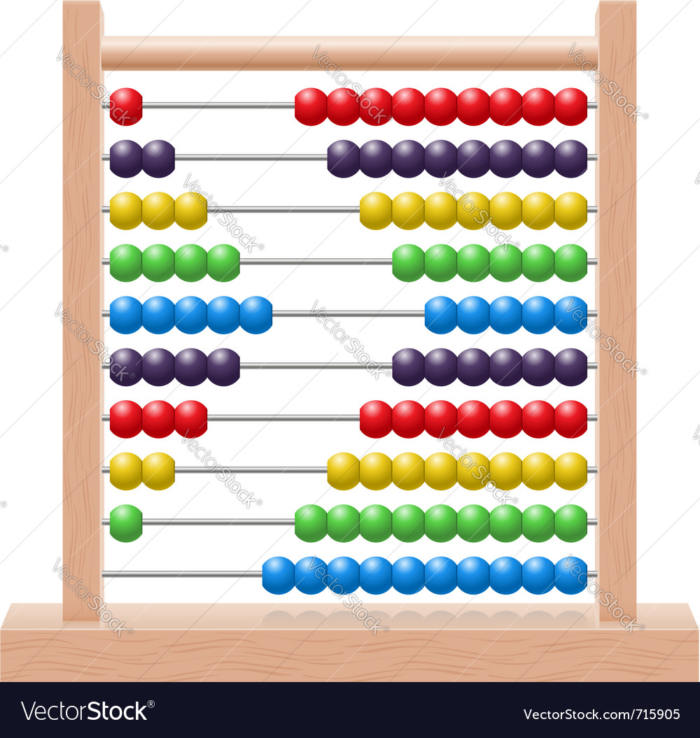 Abacus vector | Price: 3 Credit (USD $3)