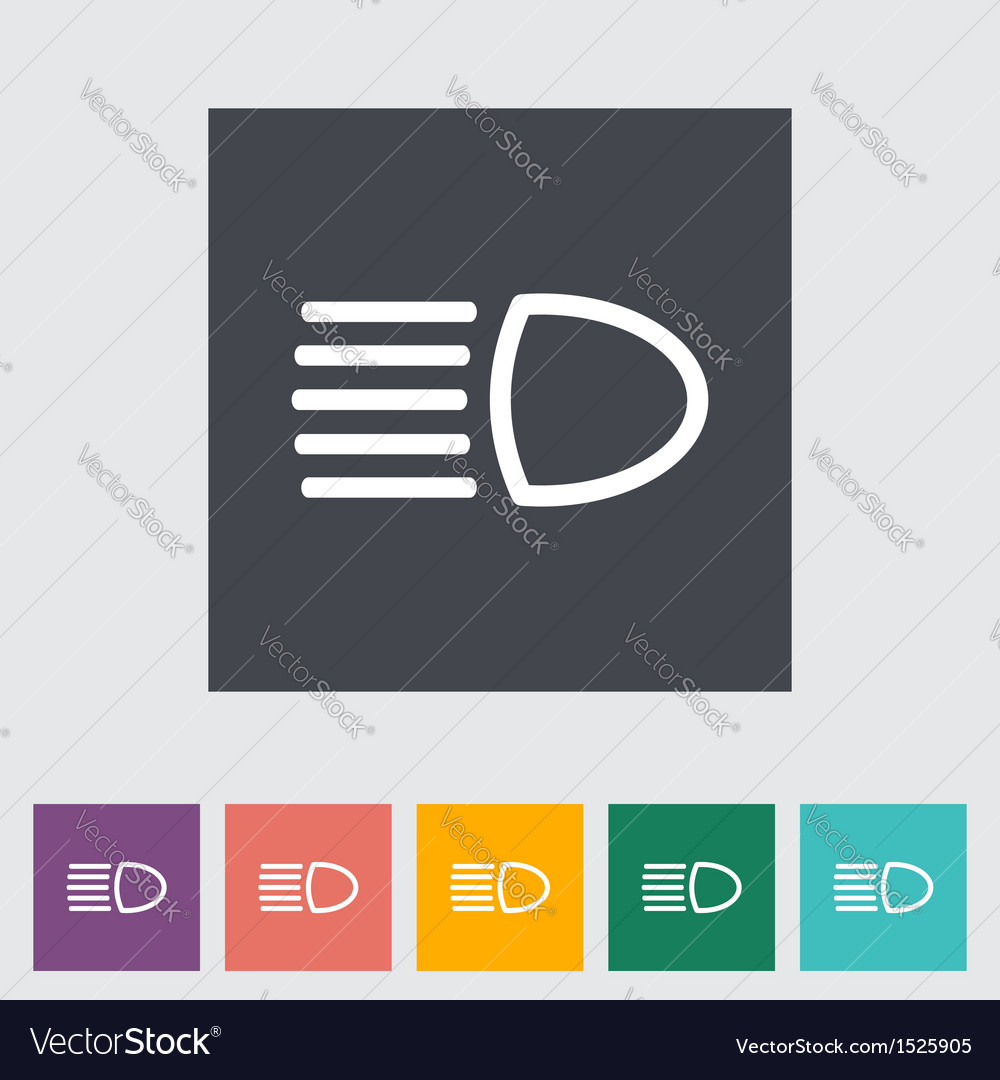 Headlight vector | Price: 1 Credit (USD $1)