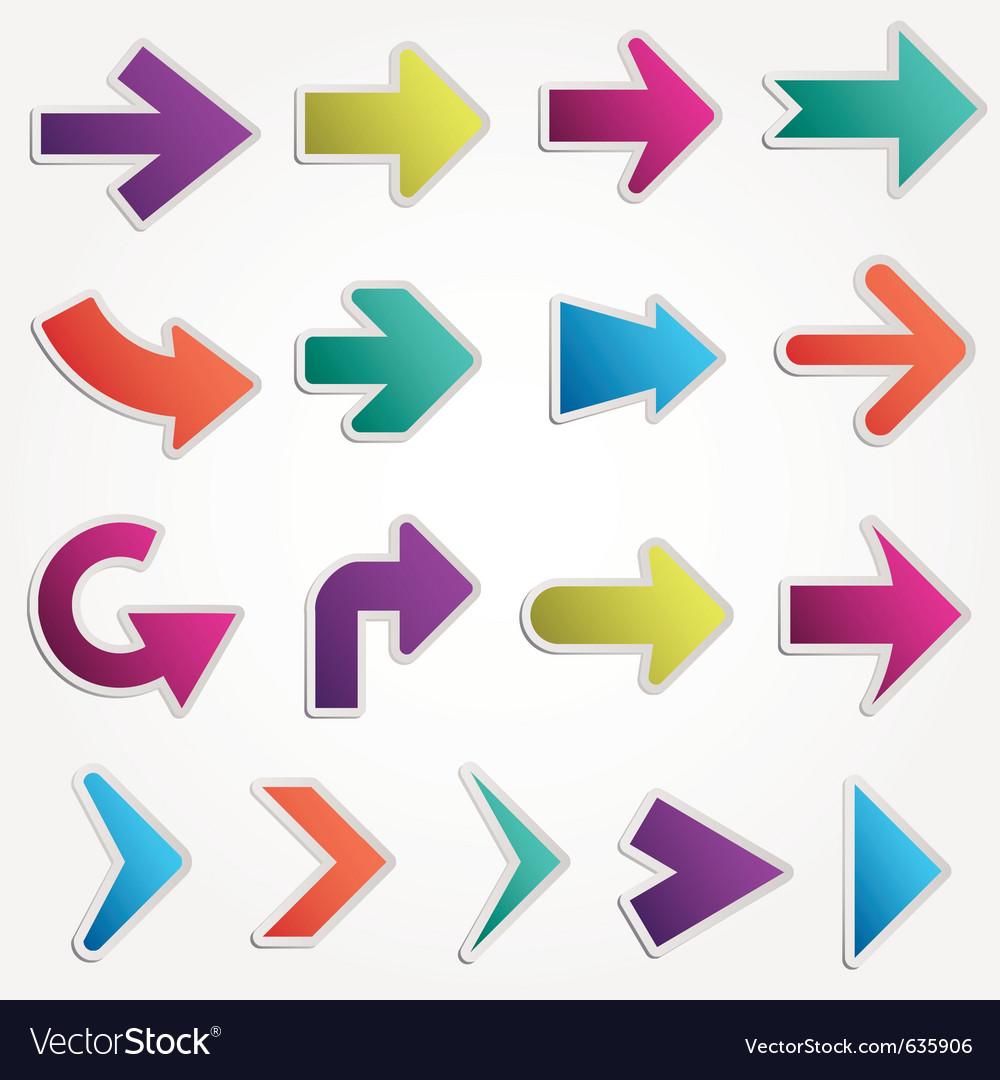 Arrows vector | Price: 1 Credit (USD $1)