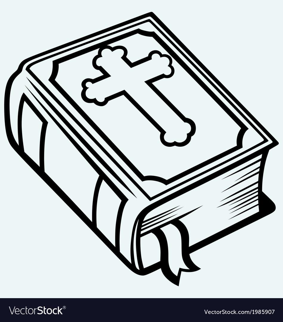 Bible book vector | Price: 1 Credit (USD $1)