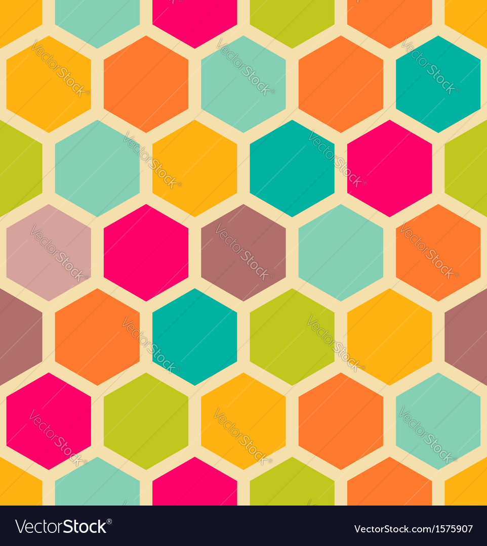 Hexagon pattern vector | Price: 1 Credit (USD $1)