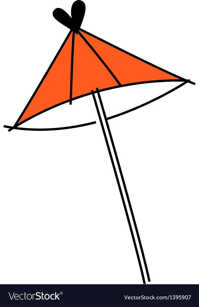 Icon umbrella vector | Price: 1 Credit (USD $1)