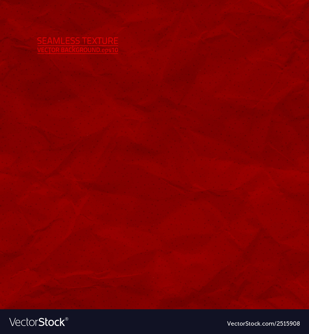 Creased red paper seamless texture vector | Price: 1 Credit (USD $1)