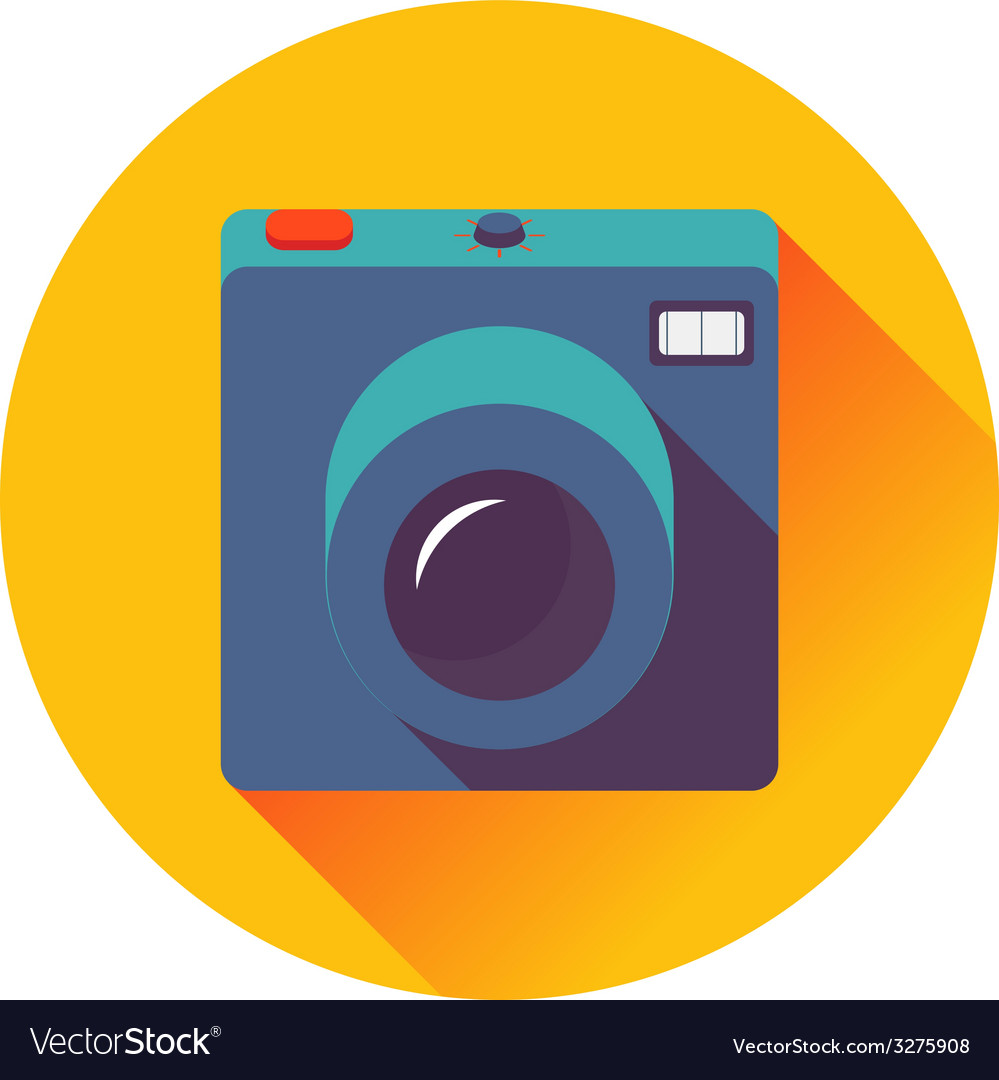 Retro cameral icon vector | Price: 1 Credit (USD $1)
