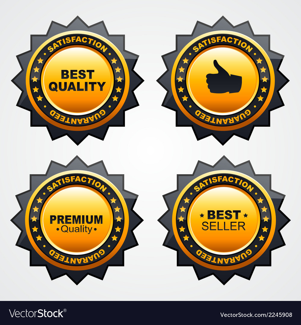 Sale badge set vector | Price: 1 Credit (USD $1)