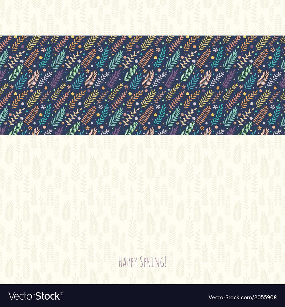 Spring background for design vector | Price: 1 Credit (USD $1)