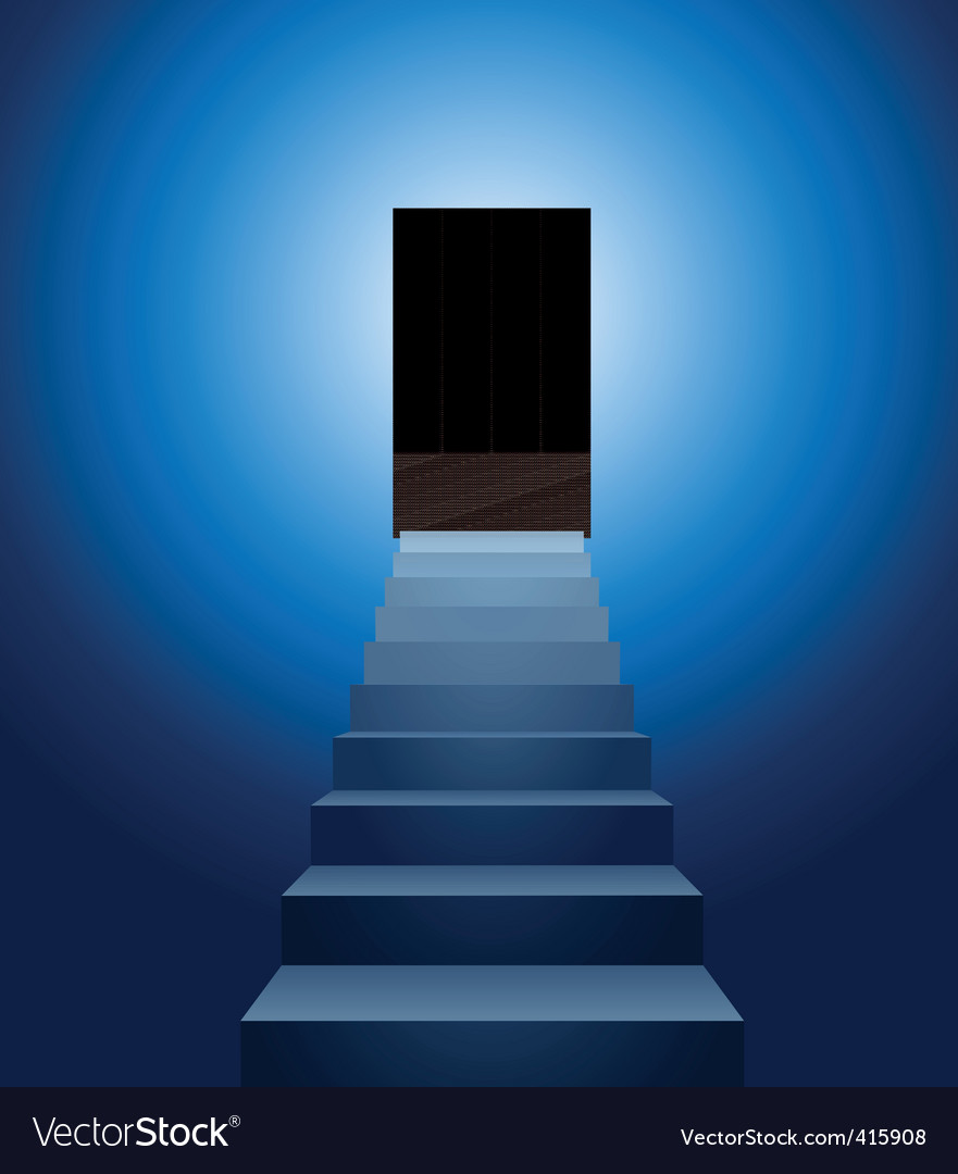 Stairways to heaven vector | Price: 1 Credit (USD $1)