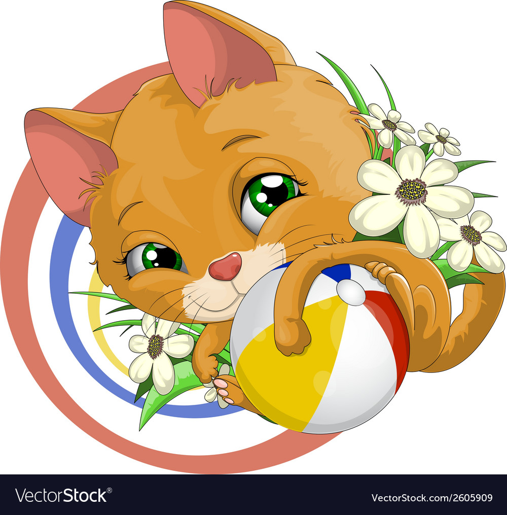 Cat vector | Price: 3 Credit (USD $3)