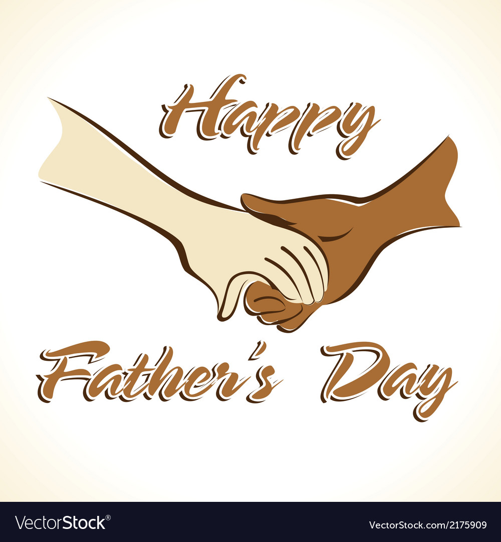 Father s day greeting vector | Price: 1 Credit (USD $1)