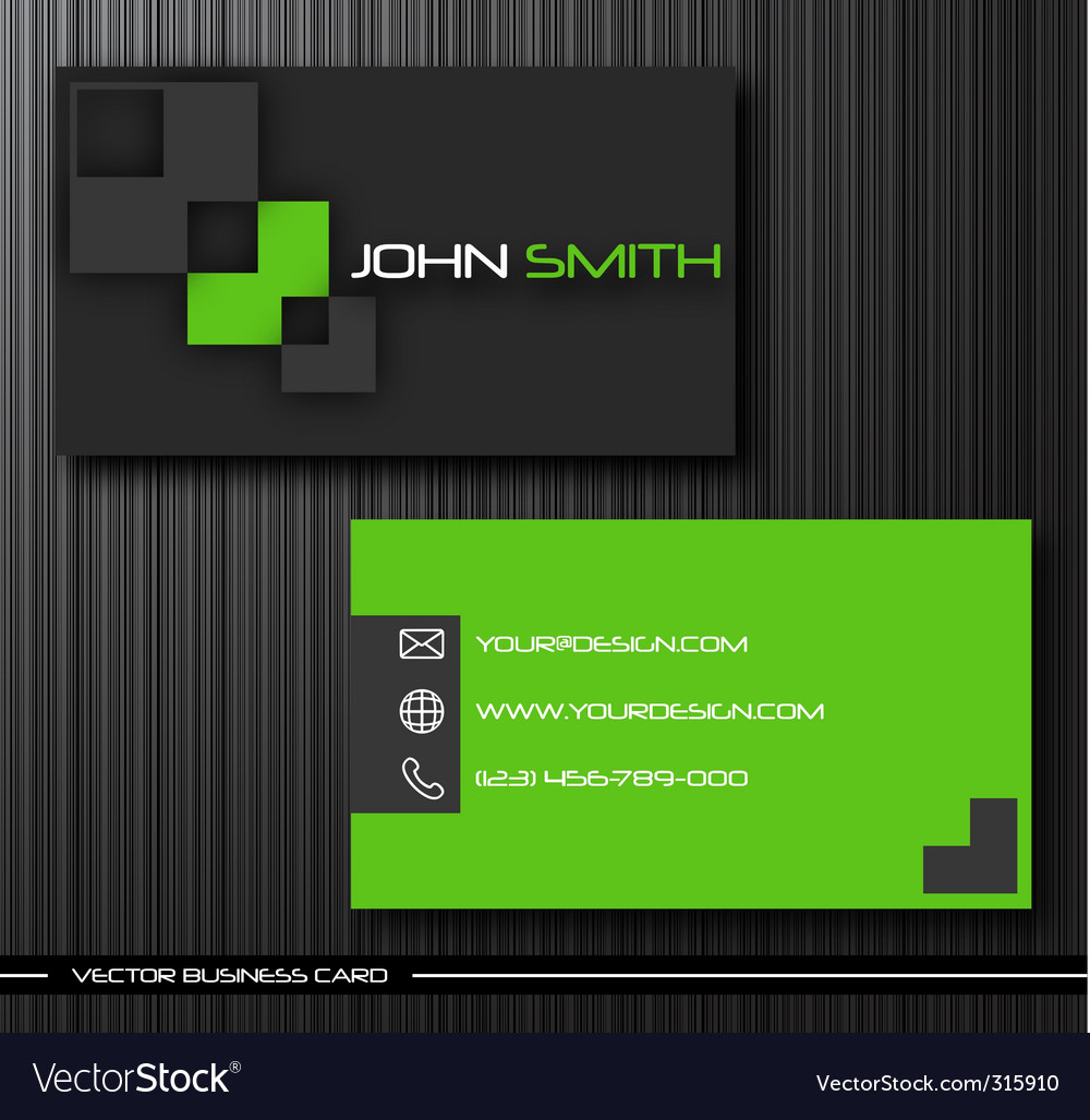 Business cards vector | Price: 3 Credit (USD $3)