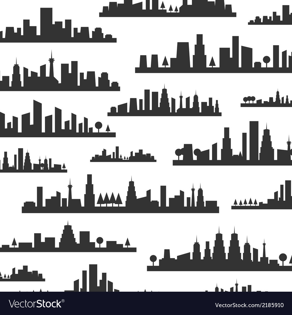 City a background vector | Price: 1 Credit (USD $1)