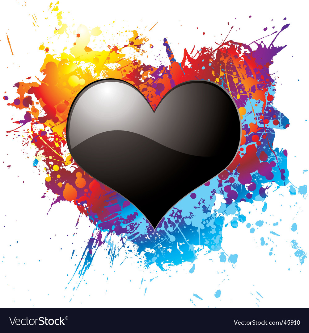 Dark love vector | Price: 1 Credit (USD $1)