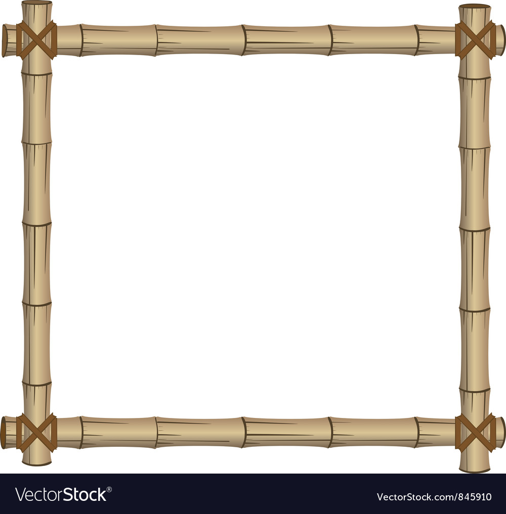 Frame bamboo vector | Price: 1 Credit (USD $1)