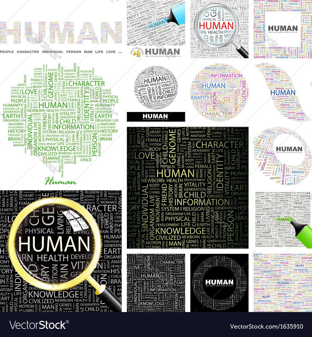 Human vector | Price: 1 Credit (USD $1)