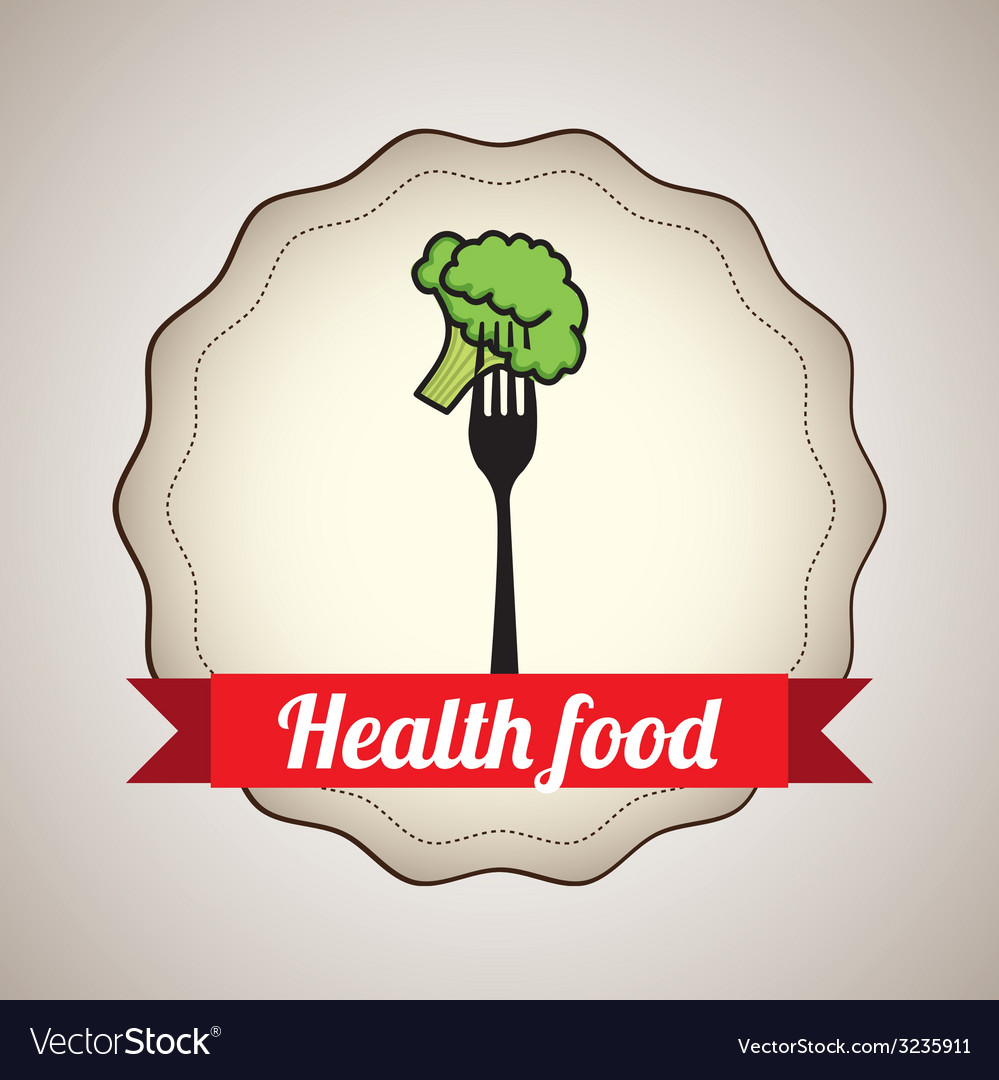 Health food design vector | Price: 1 Credit (USD $1)