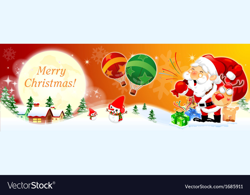 Merry christmas and happy new year backgroung vector | Price: 1 Credit (USD $1)