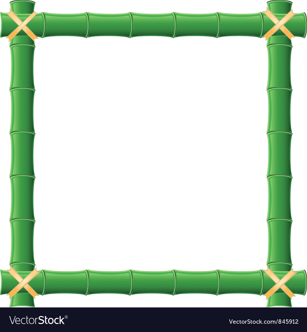 Bamboo frame vector   Price: 1 Credit (USD $1)