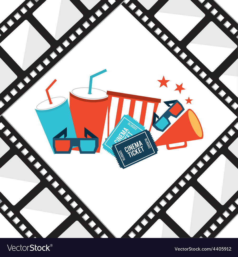 Film concept vector | Price: 1 Credit (USD $1)