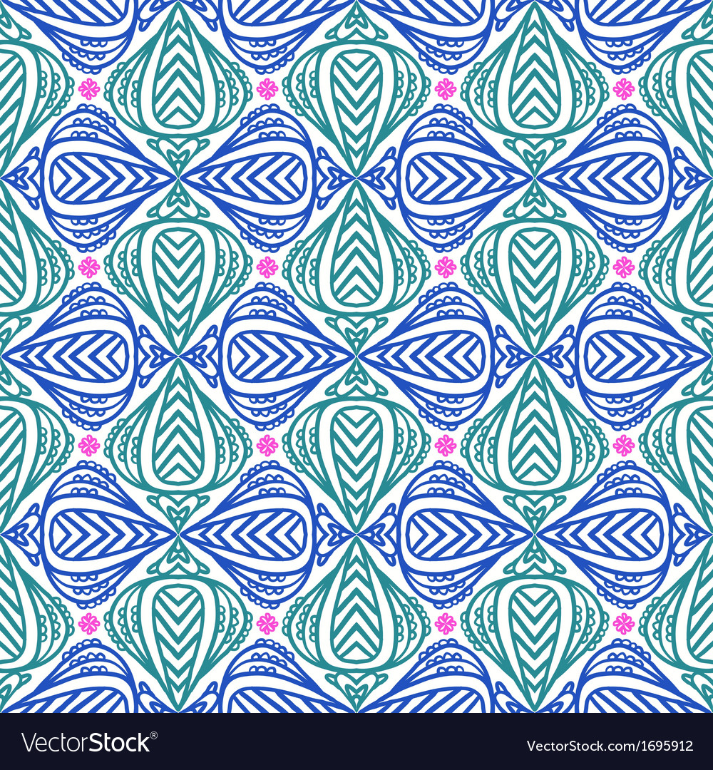 Modern stylization of indian patterns vector | Price: 1 Credit (USD $1)
