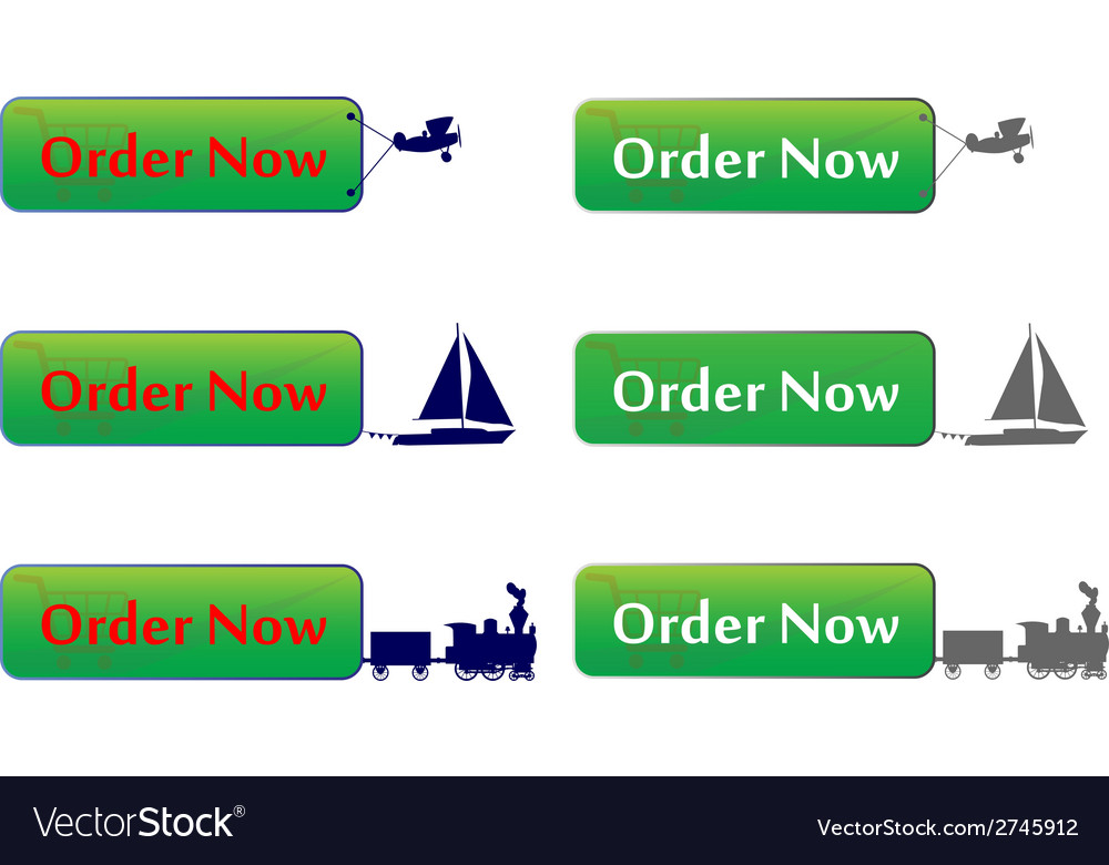 Order now button vector | Price: 1 Credit (USD $1)