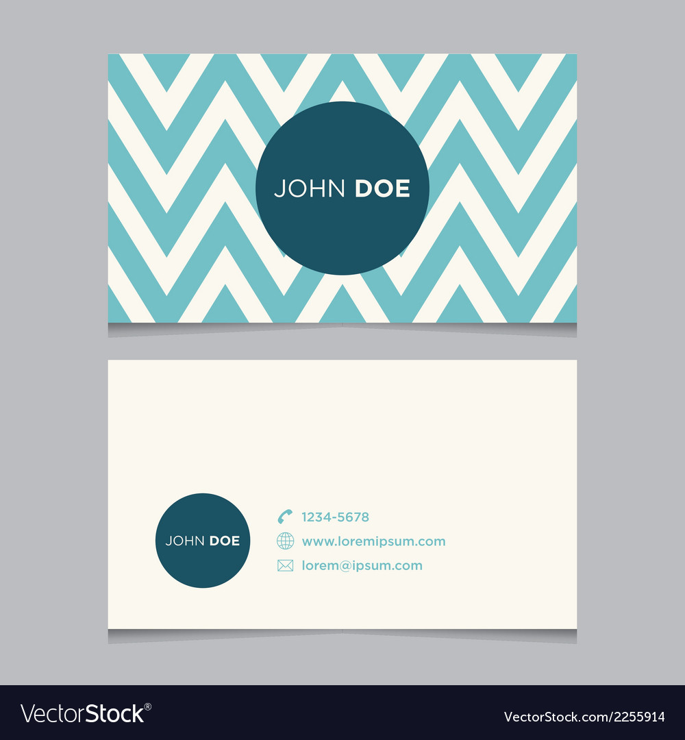Business card pattern blue 07 vector | Price: 1 Credit (USD $1)