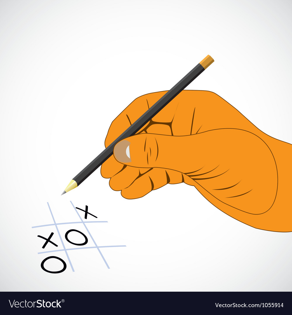 Naughts and crosses vector | Price: 1 Credit (USD $1)