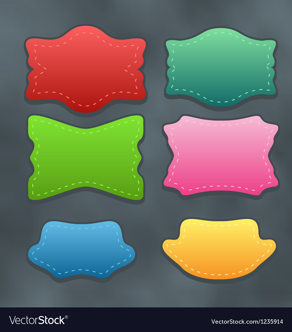 Set colorful variation labels or discount vector | Price: 1 Credit (USD $1)