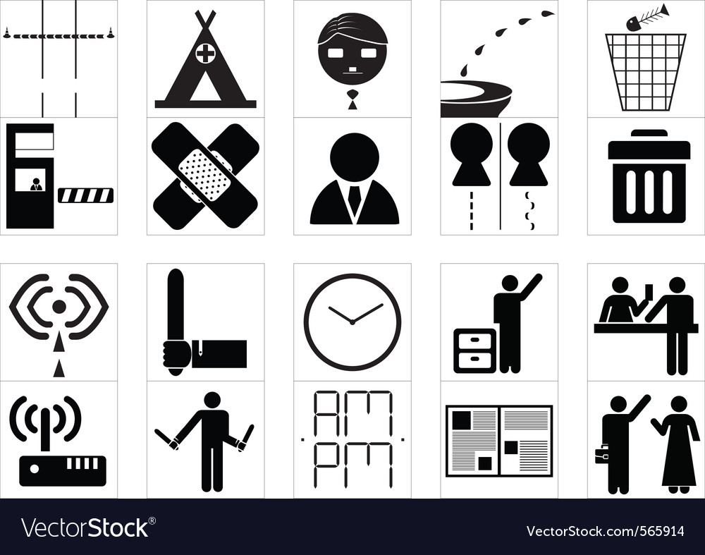 Sign system icon vector | Price: 1 Credit (USD $1)