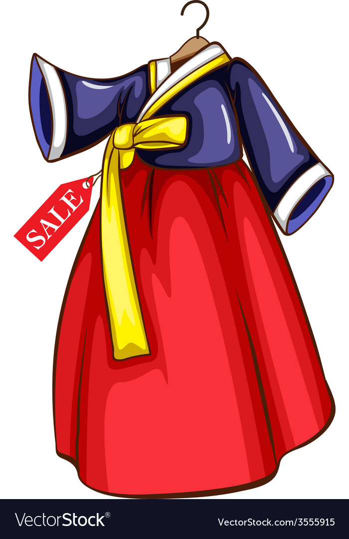 A dress for sale from asia vector | Price: 1 Credit (USD $1)