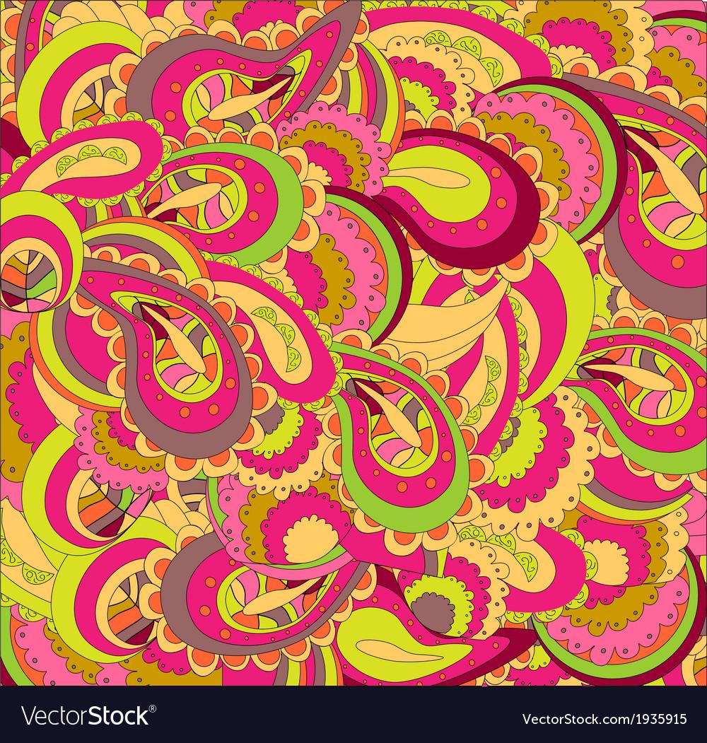 Beautiful bright pattern vector | Price: 1 Credit (USD $1)