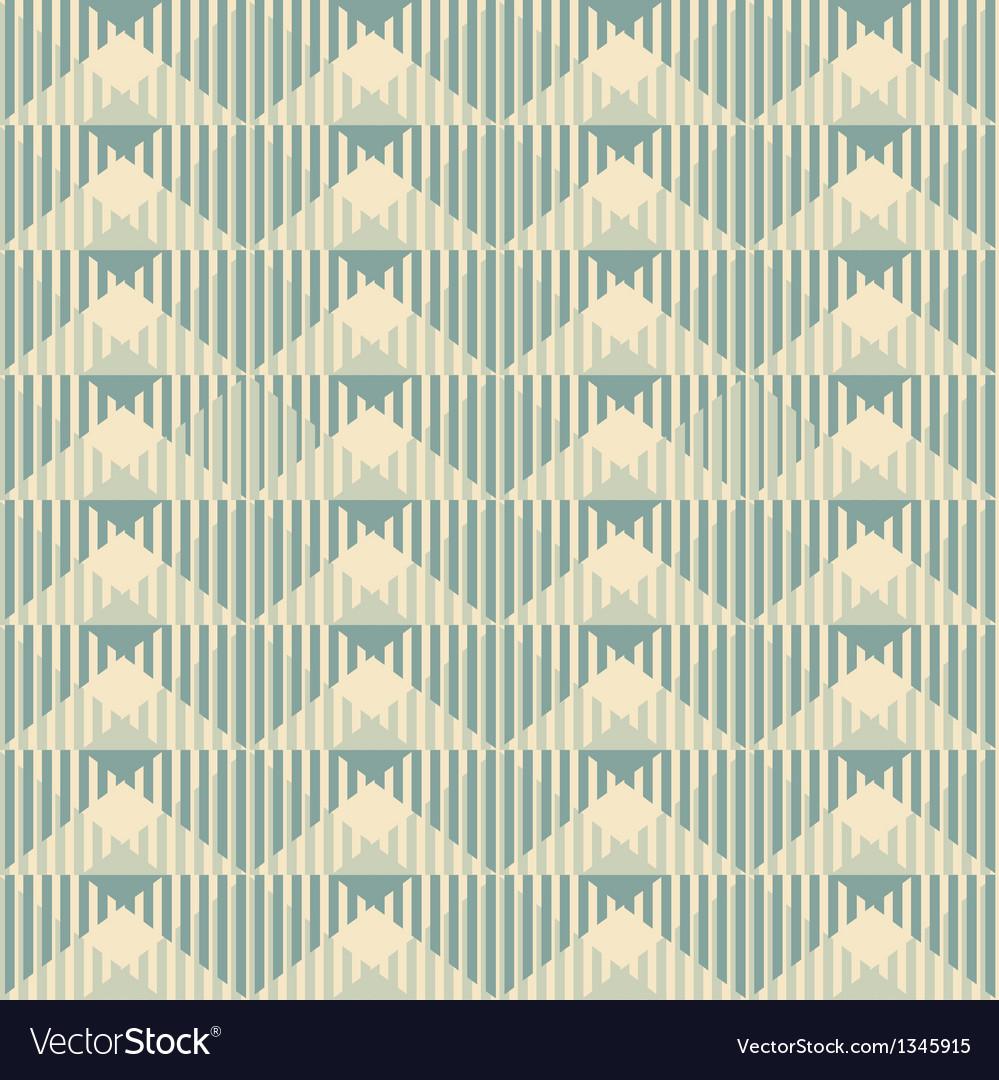 Geometric wallpaper pattern seamless background vector | Price: 1 Credit (USD $1)
