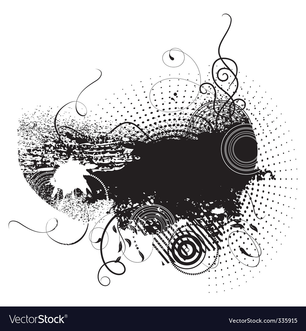 Grunge ink vector | Price: 1 Credit (USD $1)