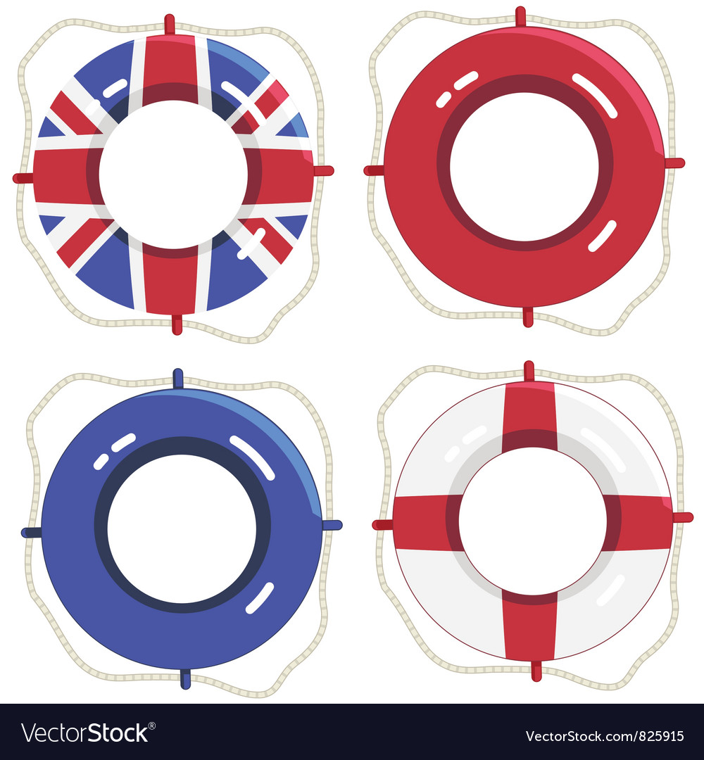 Uk life savers vector | Price: 1 Credit (USD $1)