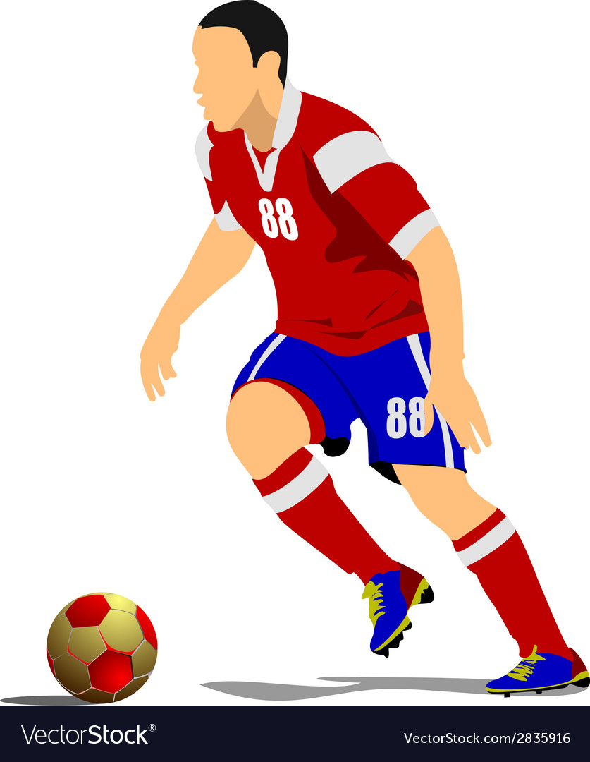 Al 1041 soccer 02 vector | Price: 1 Credit (USD $1)