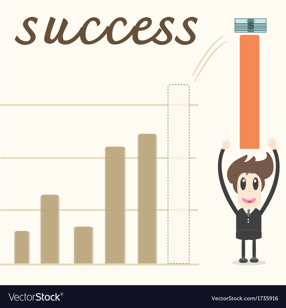 Business growth vector | Price: 1 Credit (USD $1)