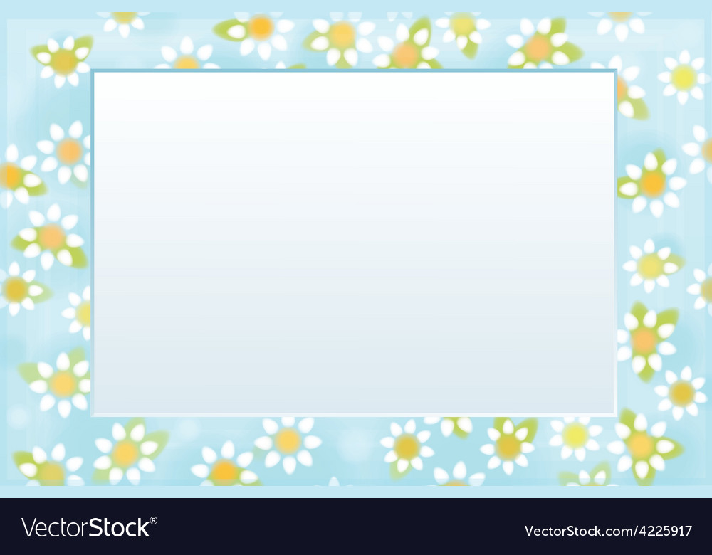 Frame floral vector | Price: 1 Credit (USD $1)