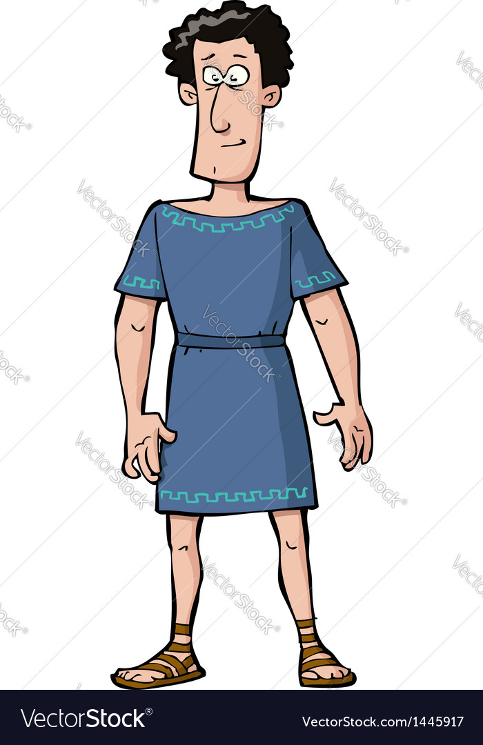 Roman citizen vector | Price: 1 Credit (USD $1)