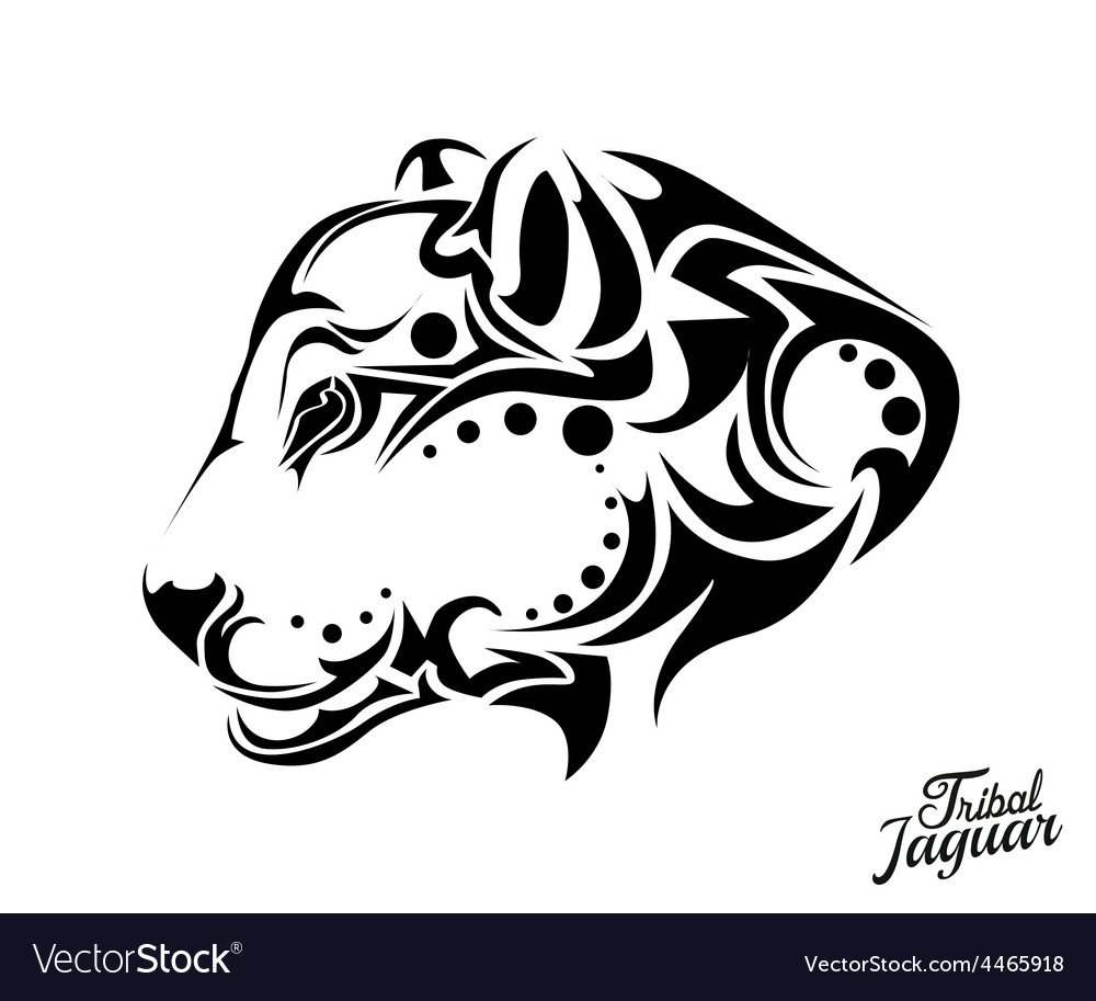 Tribal jaguar tattoo vector | Price: 1 Credit (USD $1)
