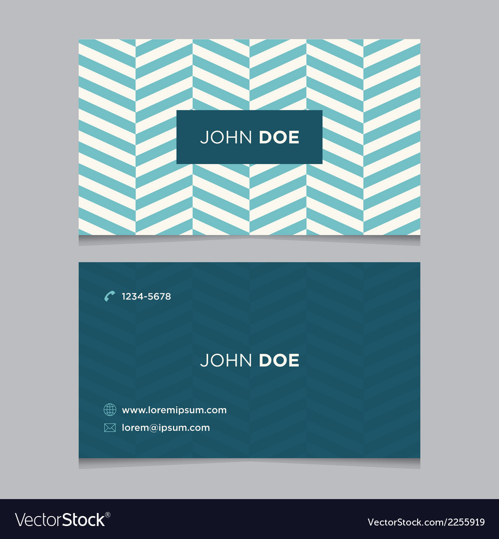 Business card pattern blue 09 vector | Price: 1 Credit (USD $1)
