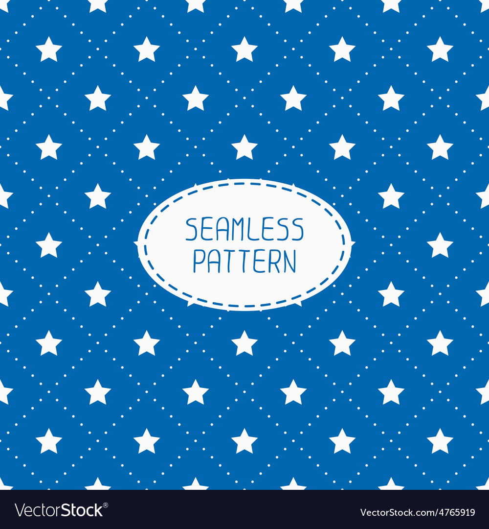 Geometric patriotic seamless pattern with white vector | Price: 1 Credit (USD $1)