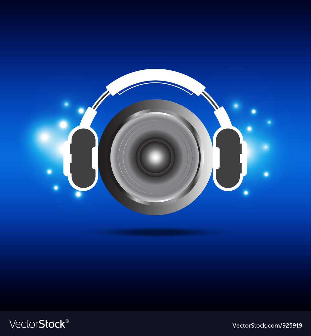 Headphone and speaker vector | Price: 1 Credit (USD $1)
