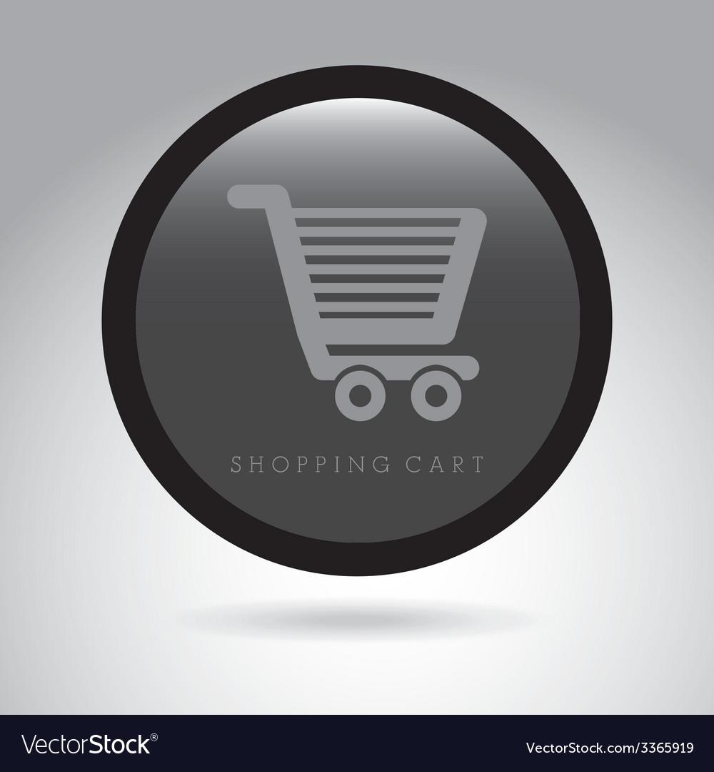Shopping cart design vector | Price: 1 Credit (USD $1)