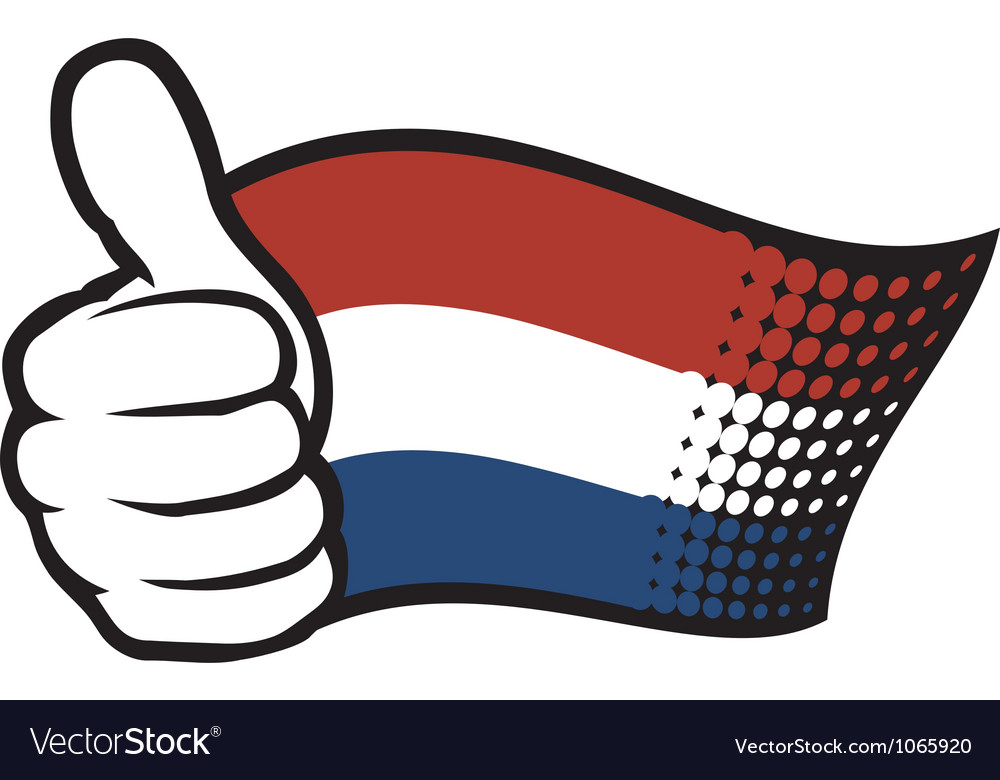 Flag of holland - flag netherlands vector | Price: 1 Credit (USD $1)