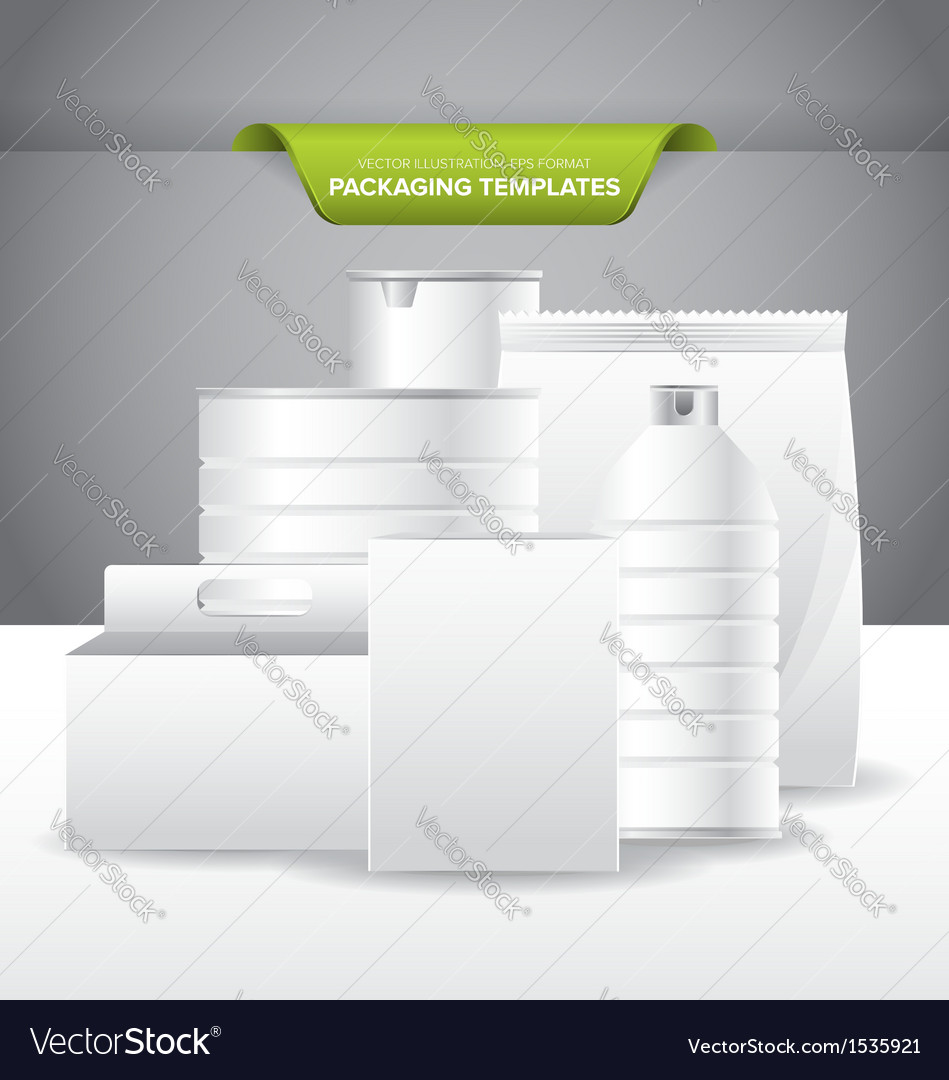 Packaging template vector | Price: 1 Credit (USD $1)