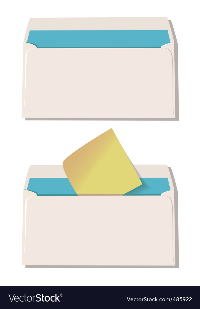 Envelope vector | Price: 1 Credit (USD $1)